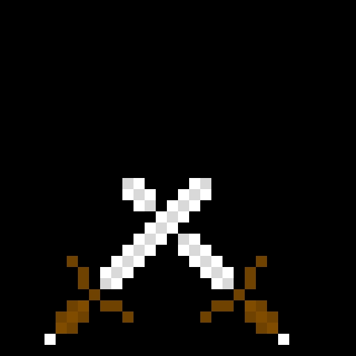 iron swords clash