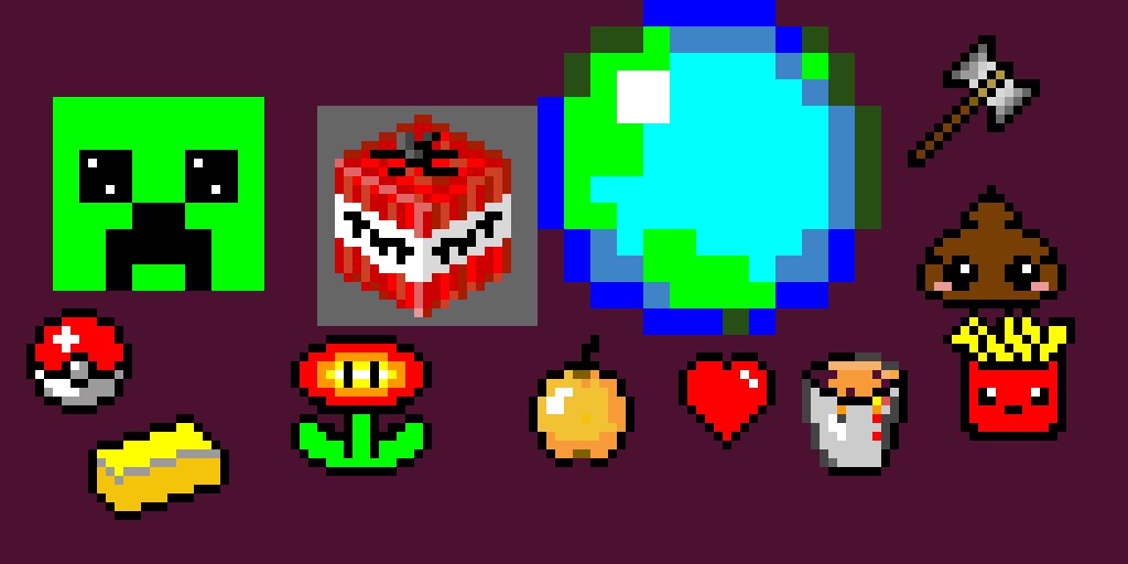 random pixel art stuff. thanks _humanbean_