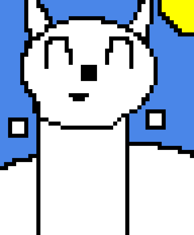Arctic fox (:D this is my 320 likes monitors) :D