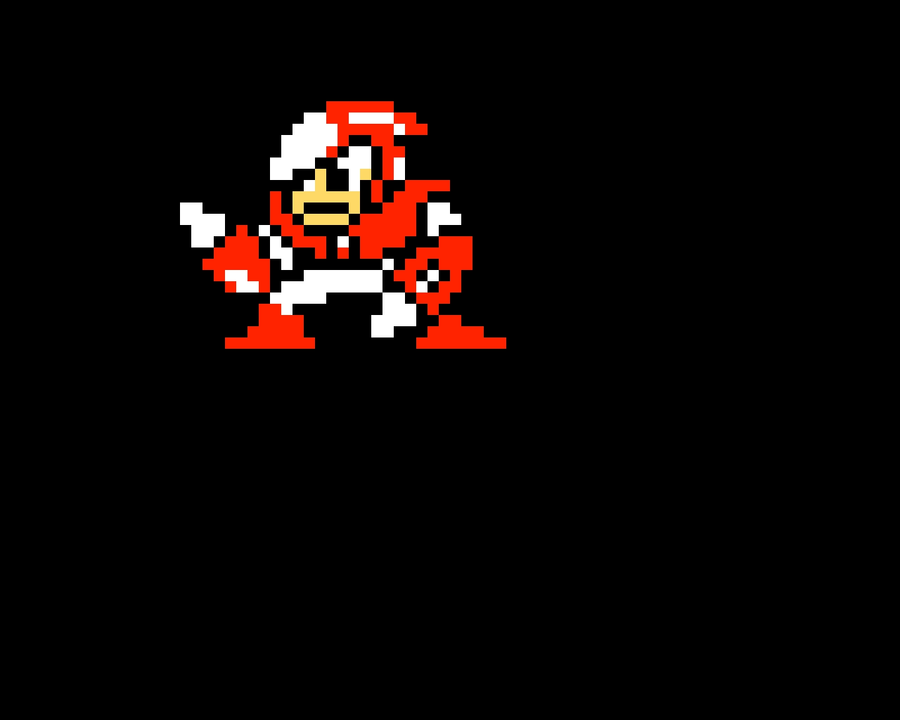 Crash Man (Mega Man 2) (sorry forgot 1 pixel)