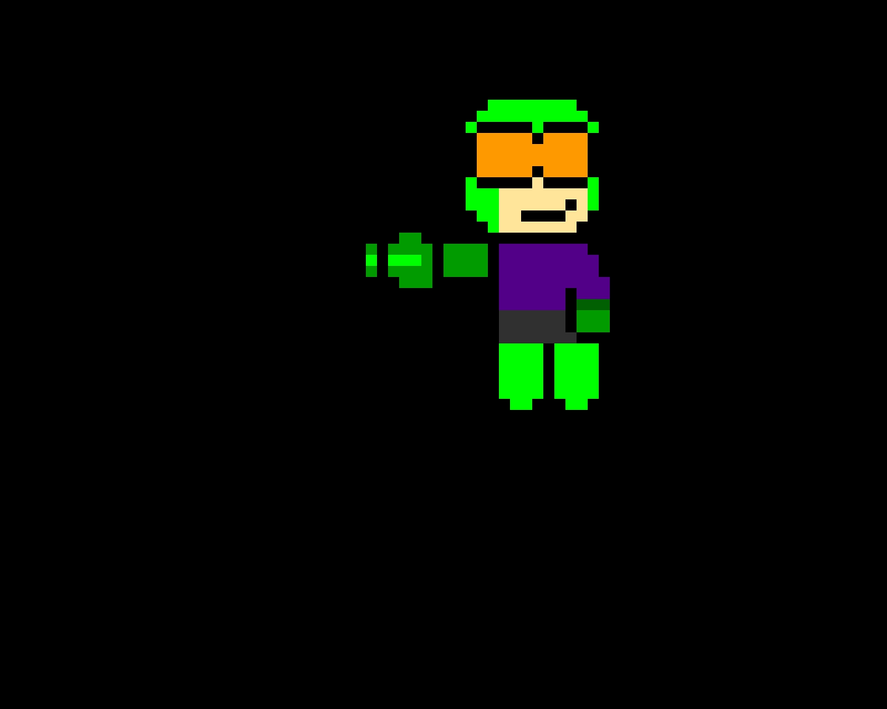 I made @corruption999 in a Mega Man style...