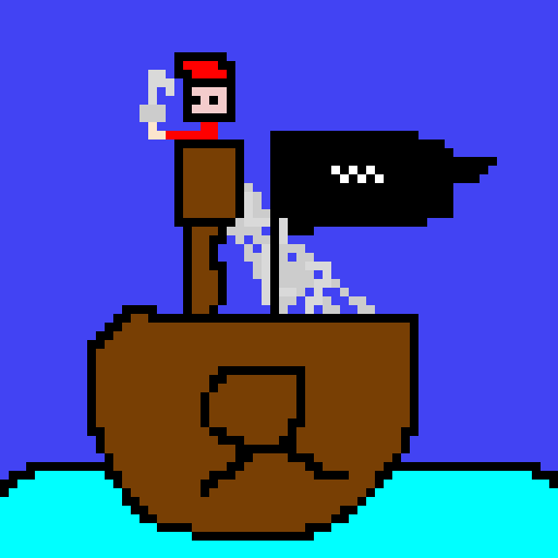 pirate on his ship (ship contest)