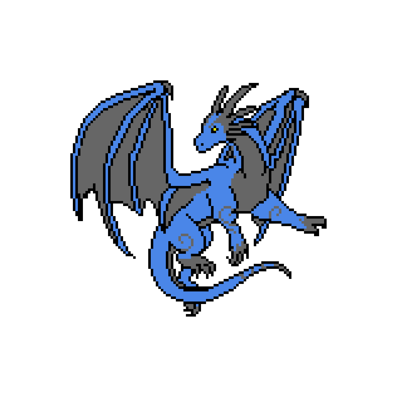 Saphira the dragon (suggestion by stinky_cats)
