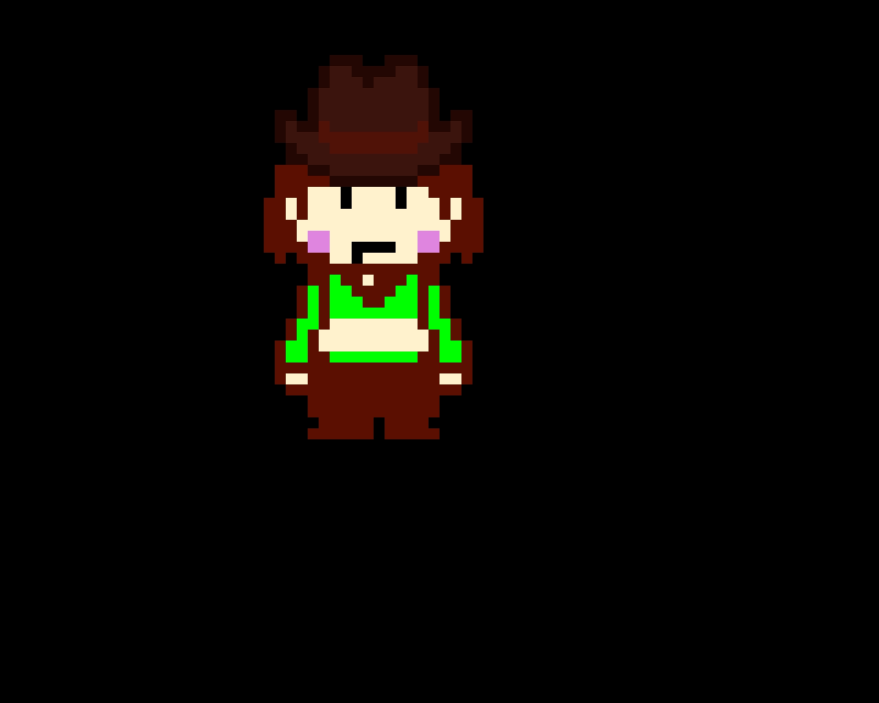 TS!Underswap Chara (Cowboy Hat Overworld Sprite)