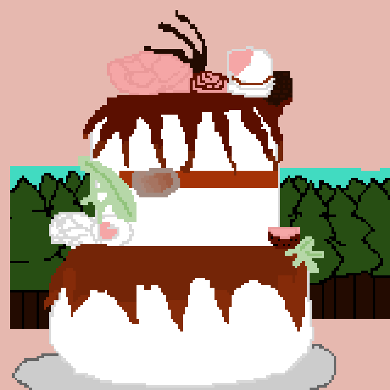 Wedding cake ( food contest)
