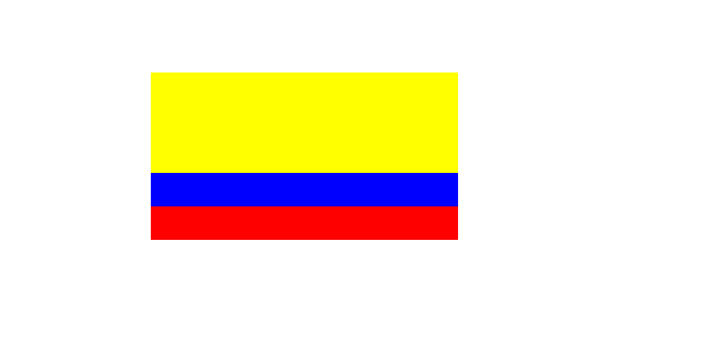 Colombia's flag