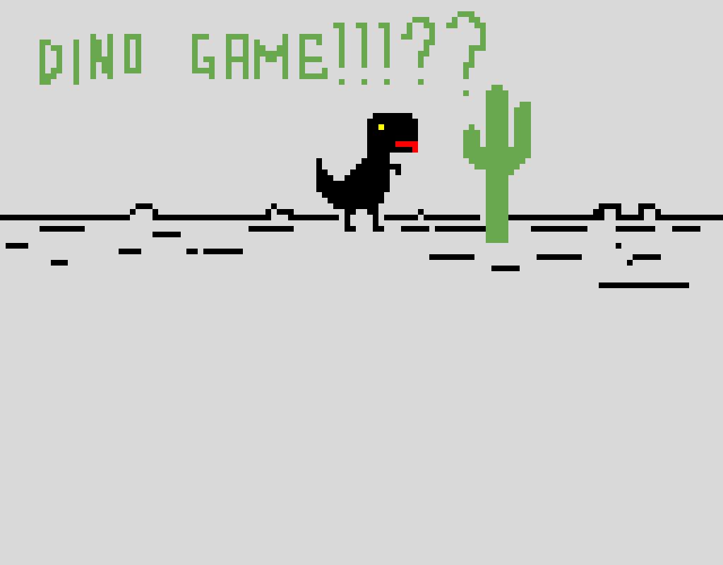 dino game modificato