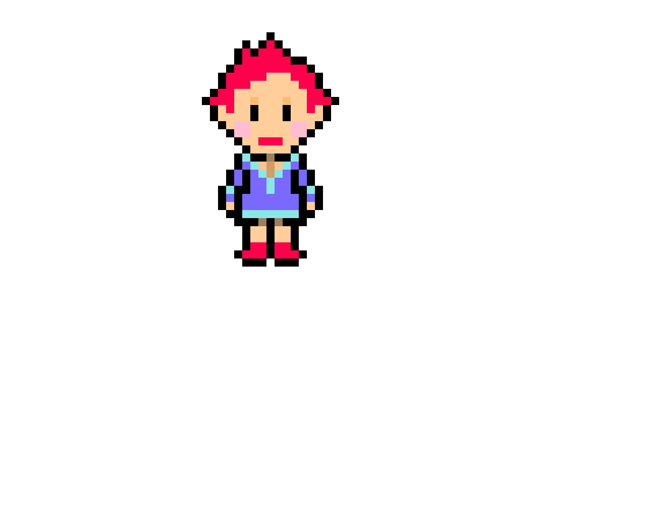Kmuatora from Mother 3 (Earthbound series)