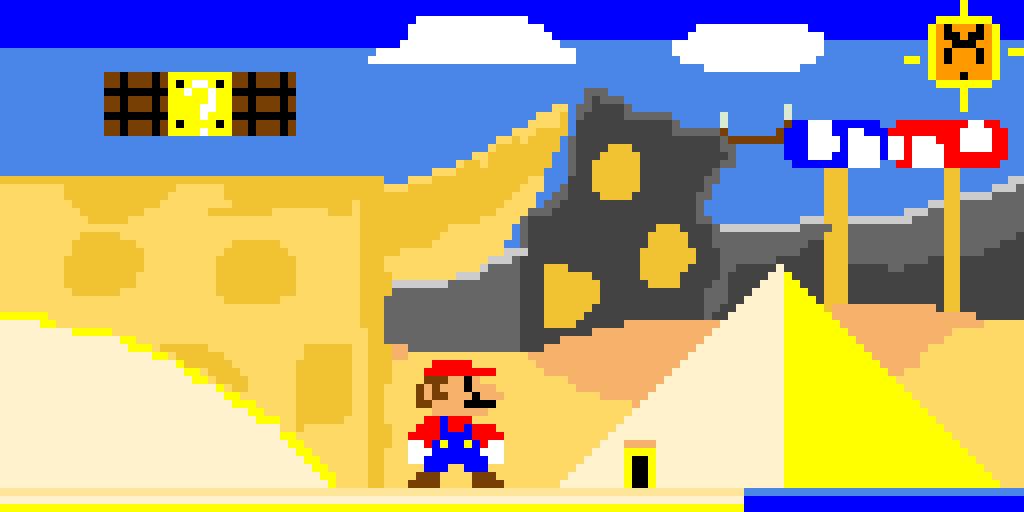 (Super Mario) Desert Waste-Lands