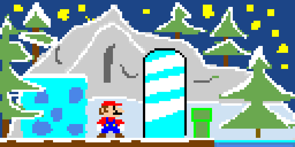 (Super Mario) Snow Glaciers (Game Contest!)