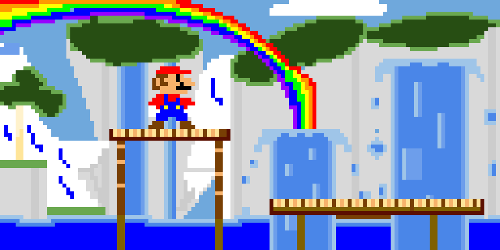 (Super Mario) Sparkling Waters