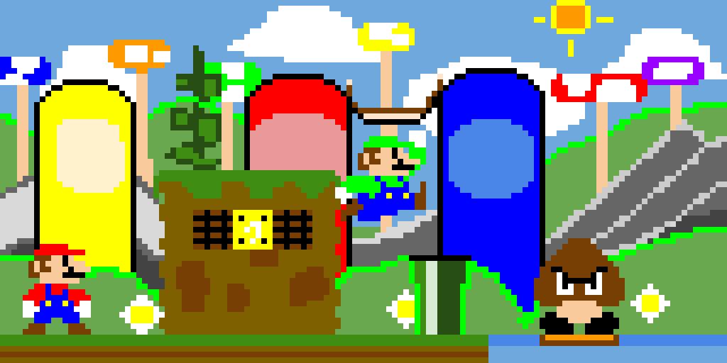 (Super Mario) The Mushroom Kingdom!