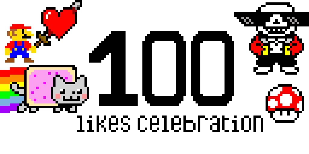 100 likes celebration