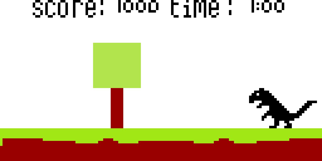 Dino run minecraft