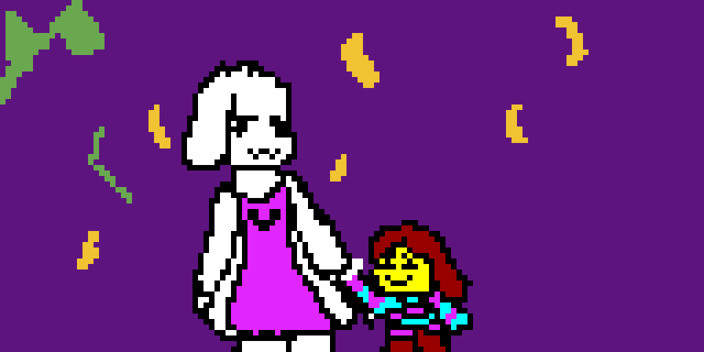 chara and her mom i guess