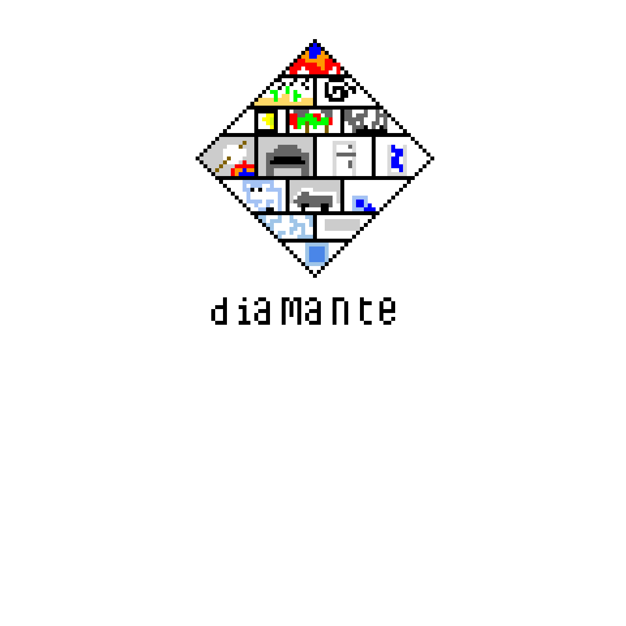 Diamante (i wrote a poem for school and we had to illustrate it tell me what u think)