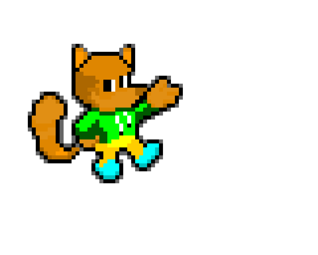 Me in a Mario and Luigi SuperStar Saga Style (EmRuHire recolor)