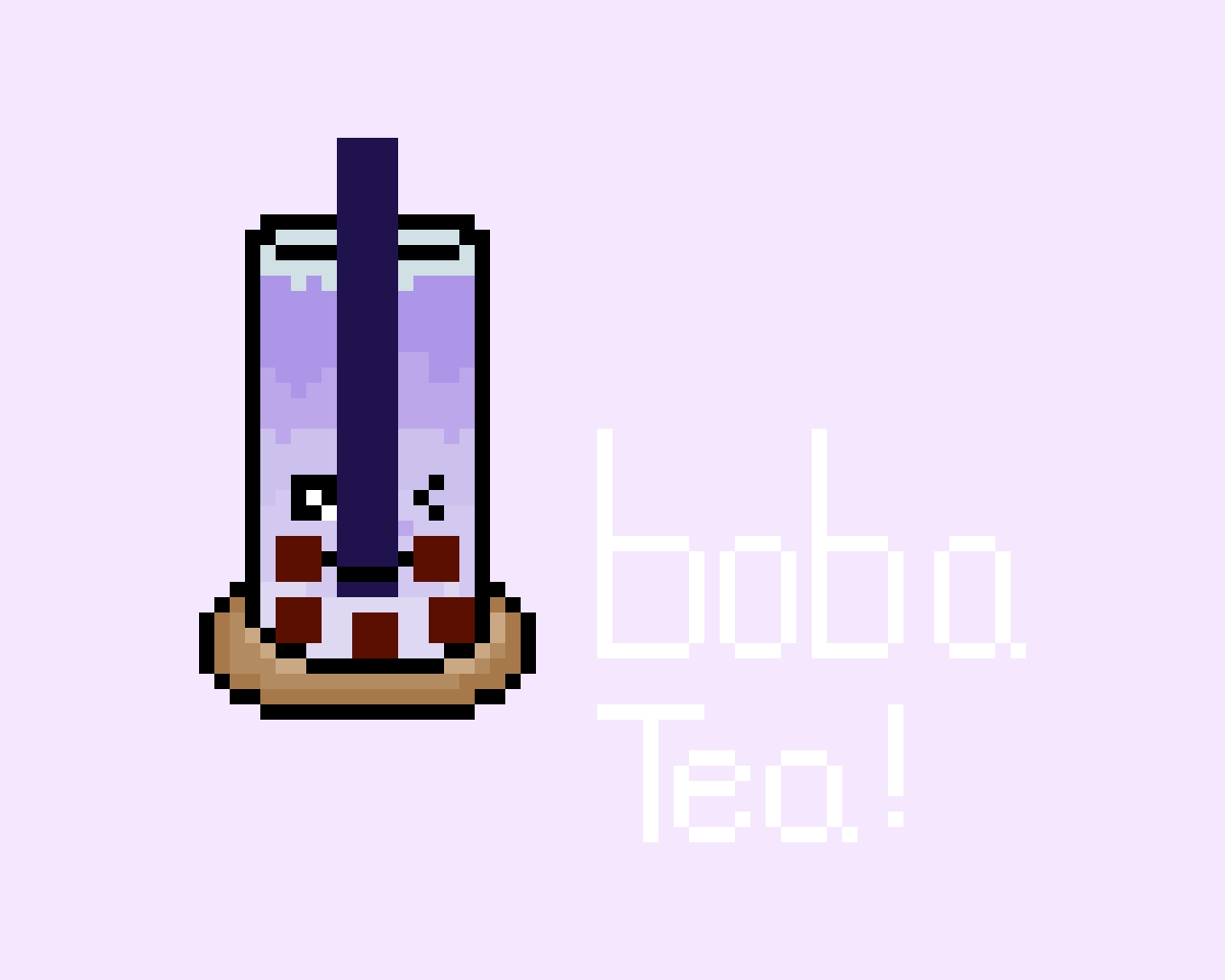 boba tea!! ^^