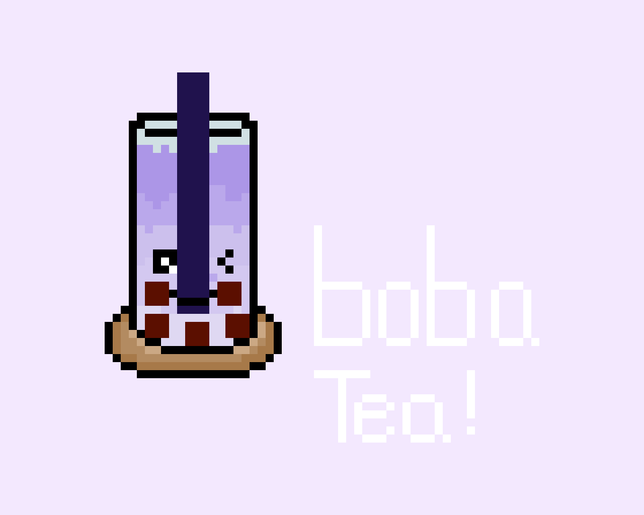 Boba tea _ i dont know why this didnt upload yesterday but here you go..i guess