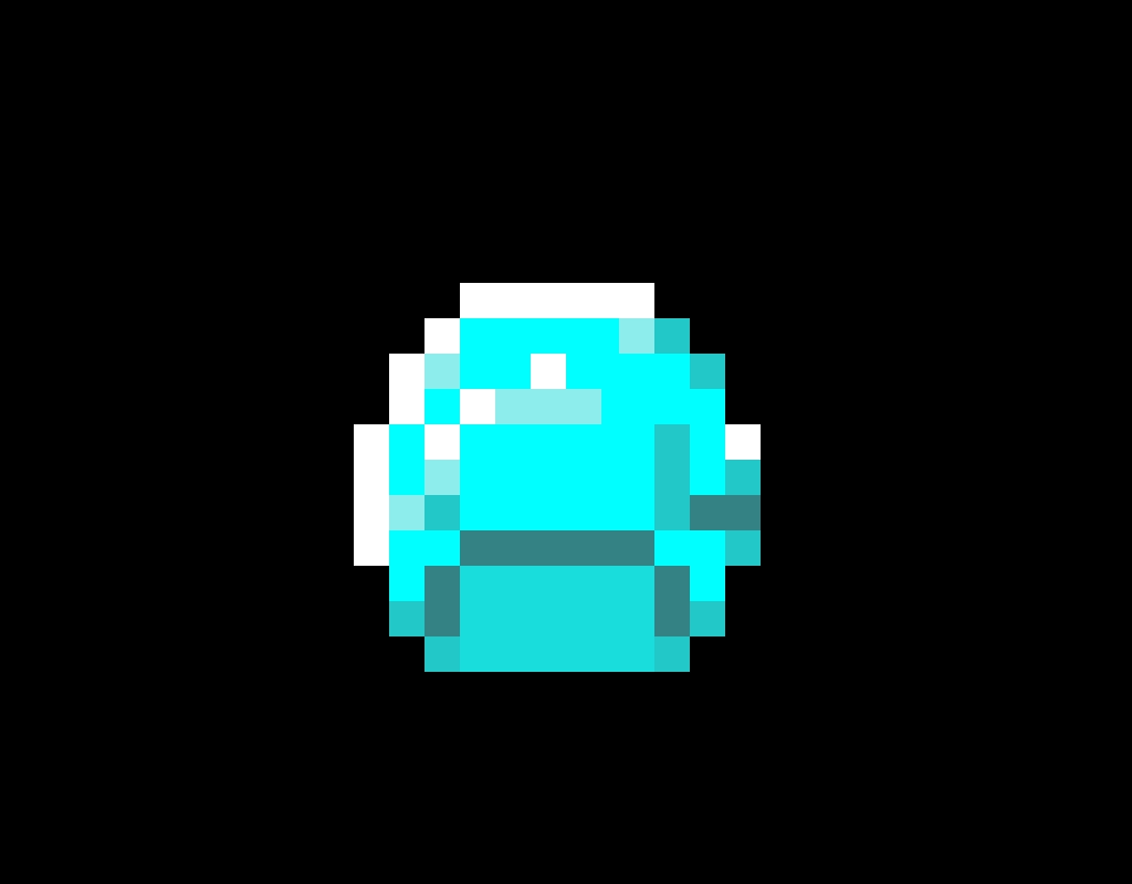 Minecraft Diamond (THICC)