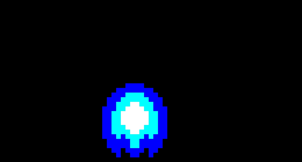 Blue Podoboo