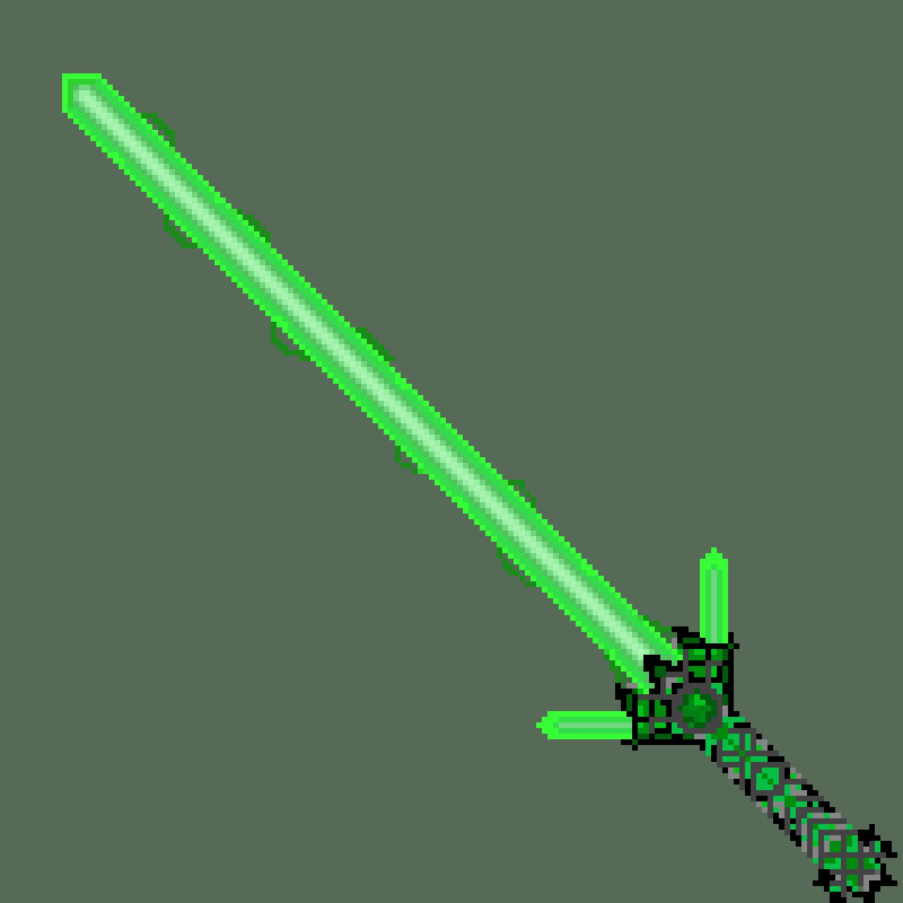 Green Sabor Sword