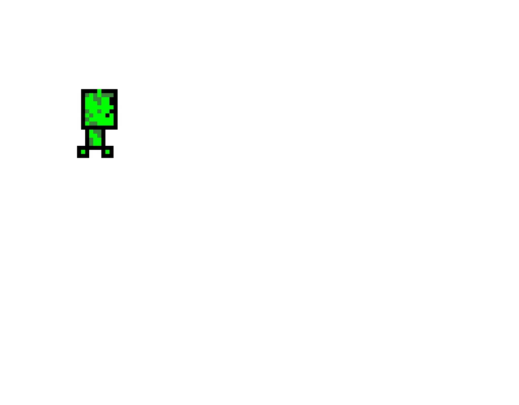 creeper is small