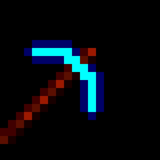 diamond pickaxe (Minecraft)