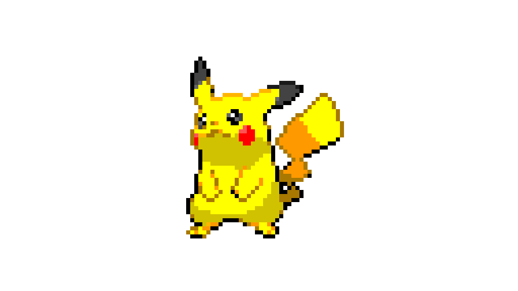 pikachu model by jagm (inspired in Mr_dude)