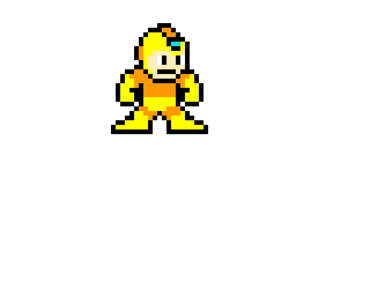 Megaman's Super Transformation (Credit: Dankmaster)