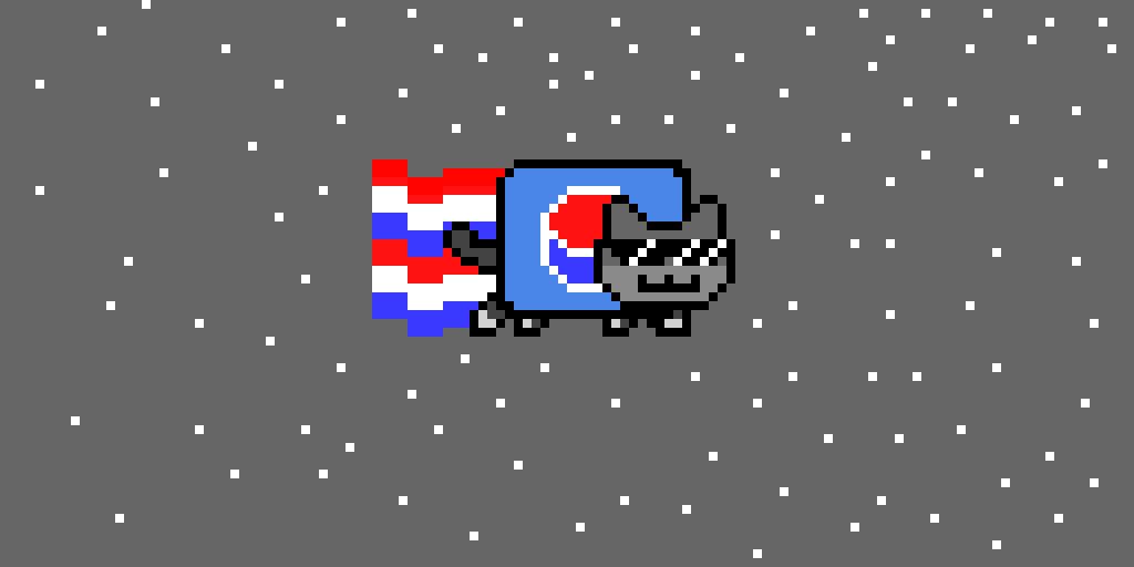 pepsi cat