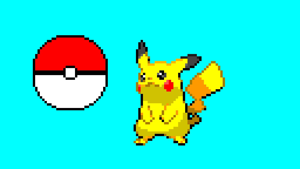 pikachu and pokeball contest