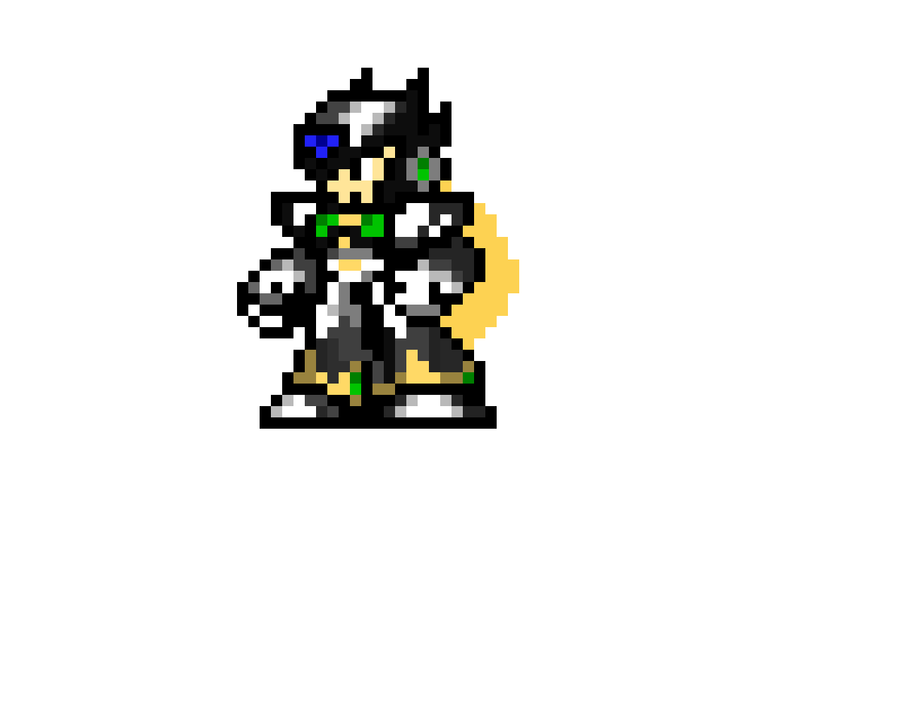 Black Zero from Mega Man X4,5,6 and 8 (Xtreme styled)