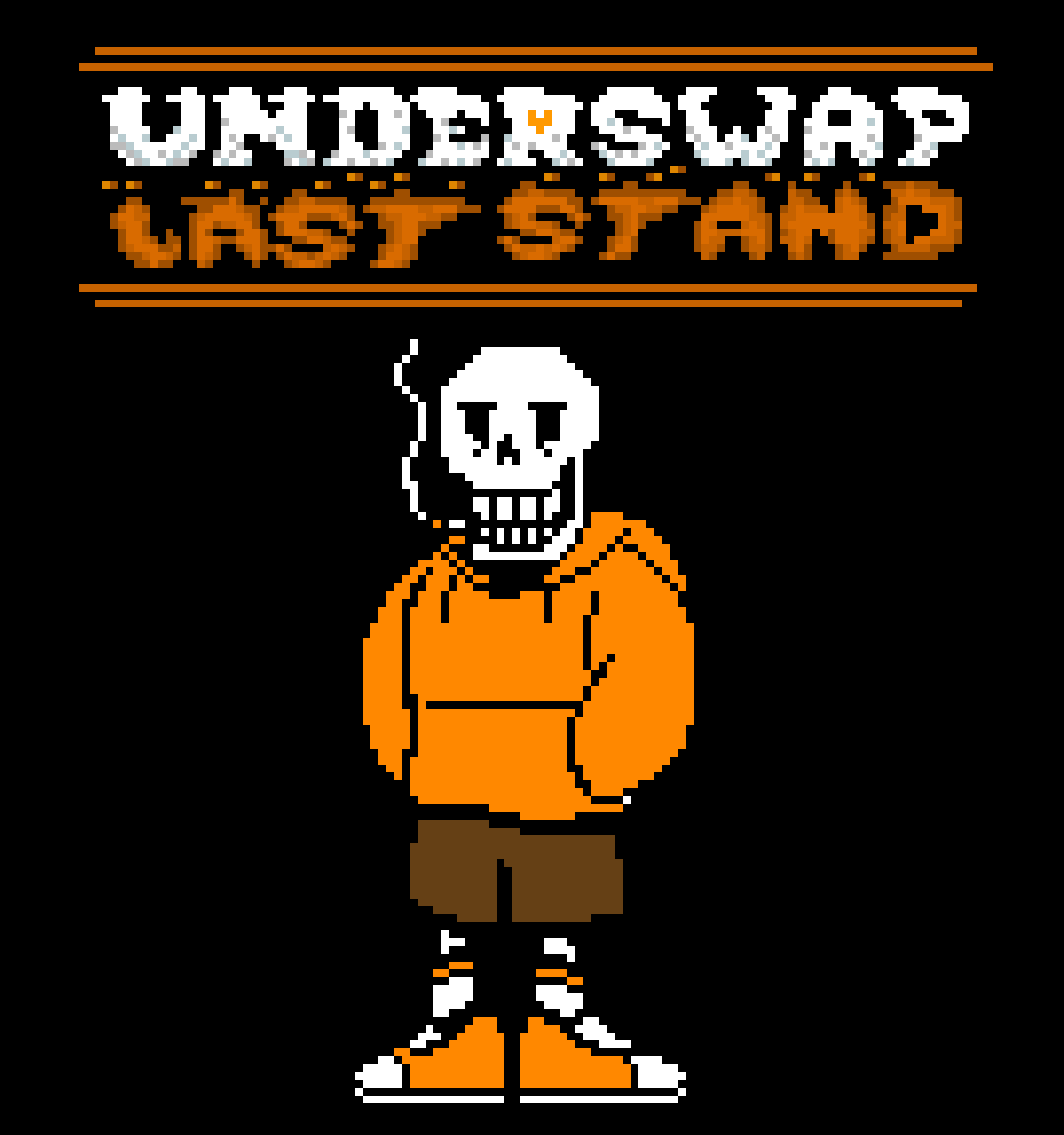 Underswap Last Stand with Underswap Papyrus (color)