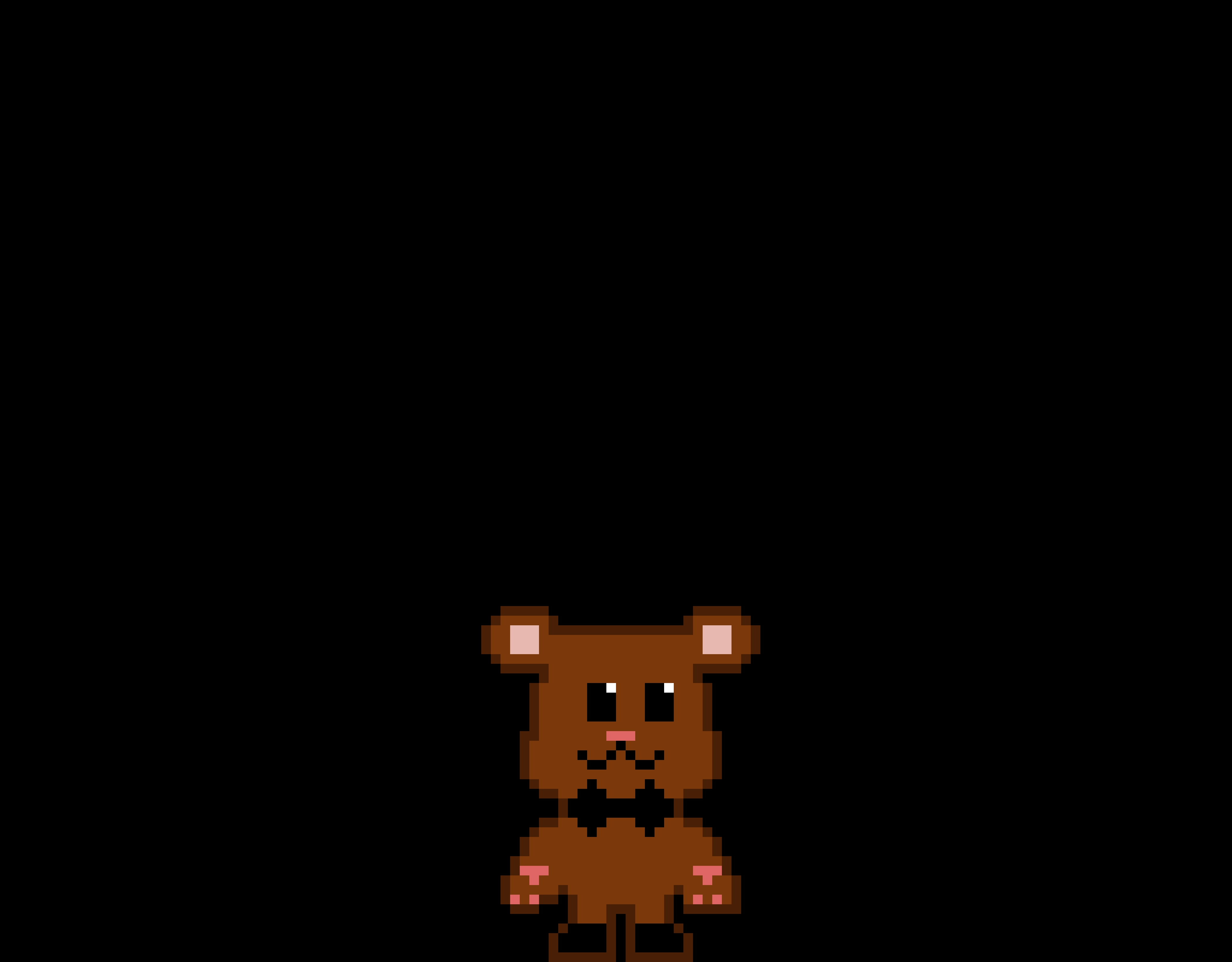 Freddy plush/chris's teddy/ crying child's teddy.
