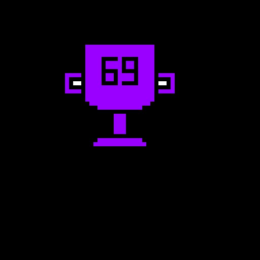 69 purple