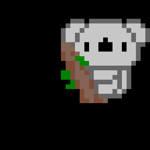 Koala Pixel Art