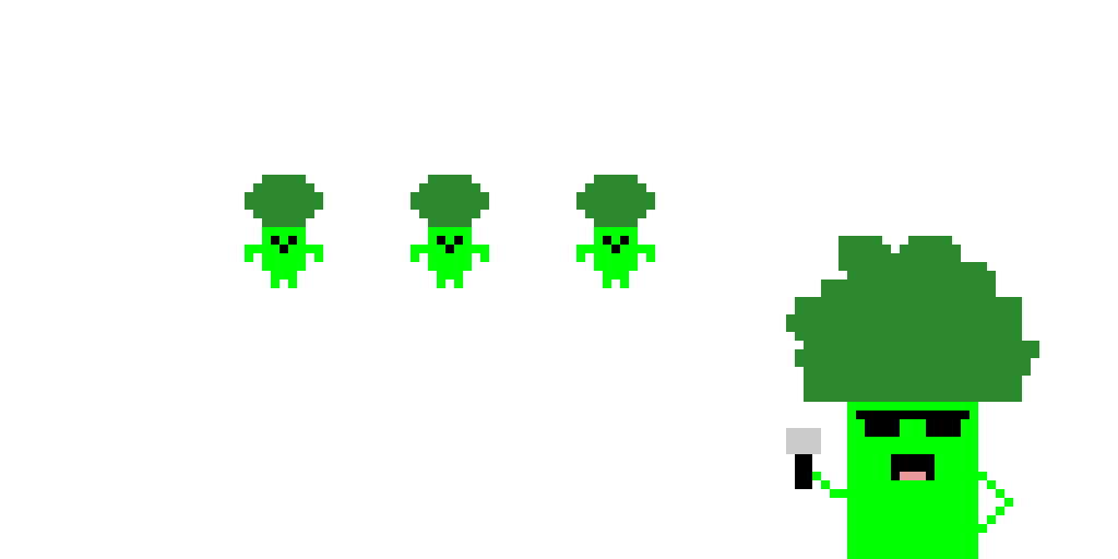 Broccoli dance