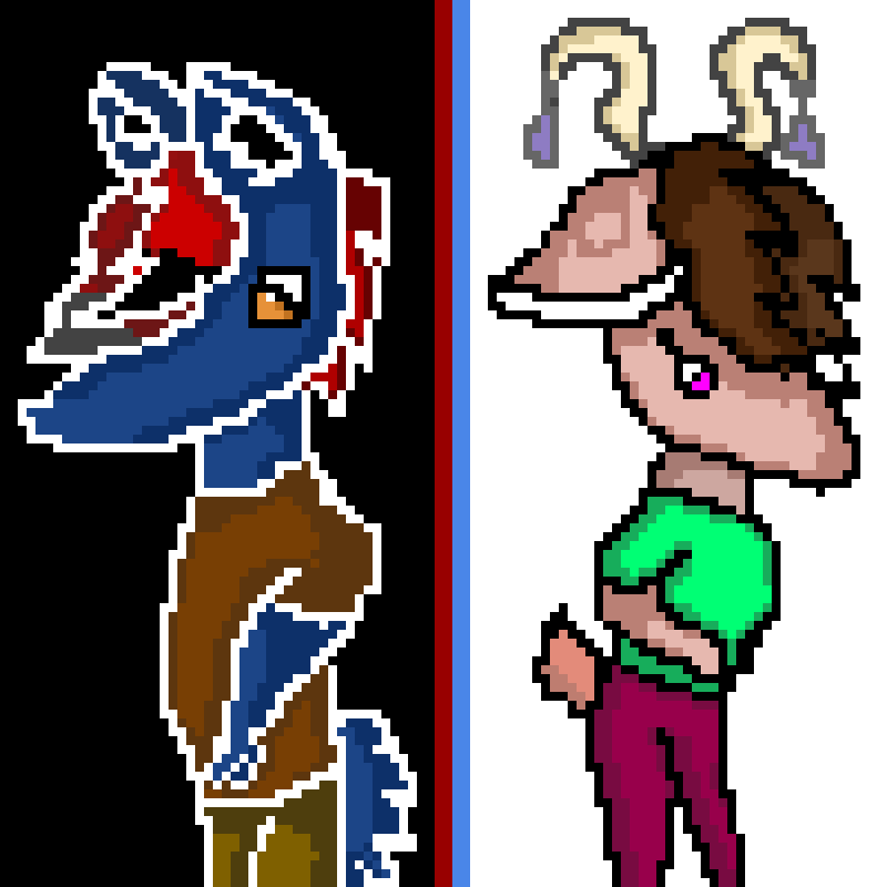 Dark and Light FURRIES ( edited )