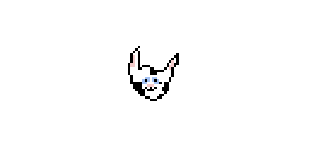 Cat (Meant to be a husky but looks like a cat or cow) (Actually made by luna_fox)