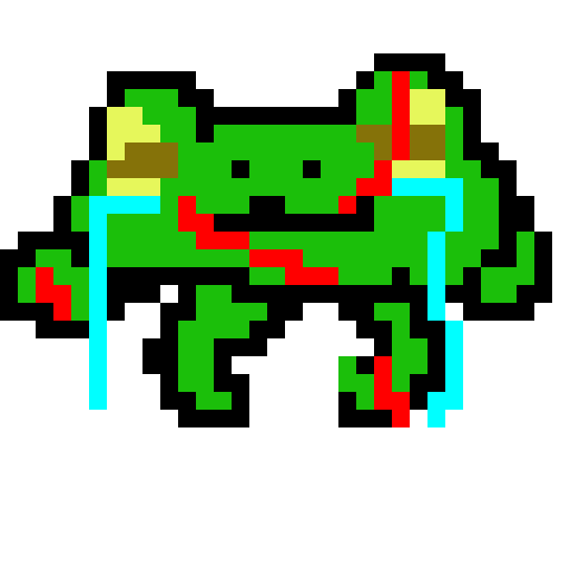 My Froggy friend got hurttt!!! We must help him!