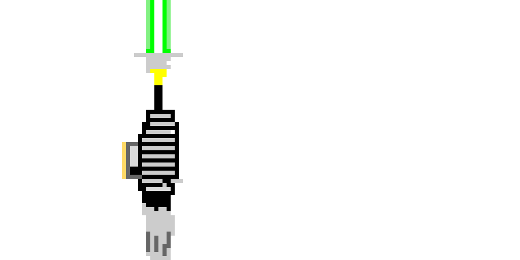 how close is this lightsaber to lukes in return of the jedi?