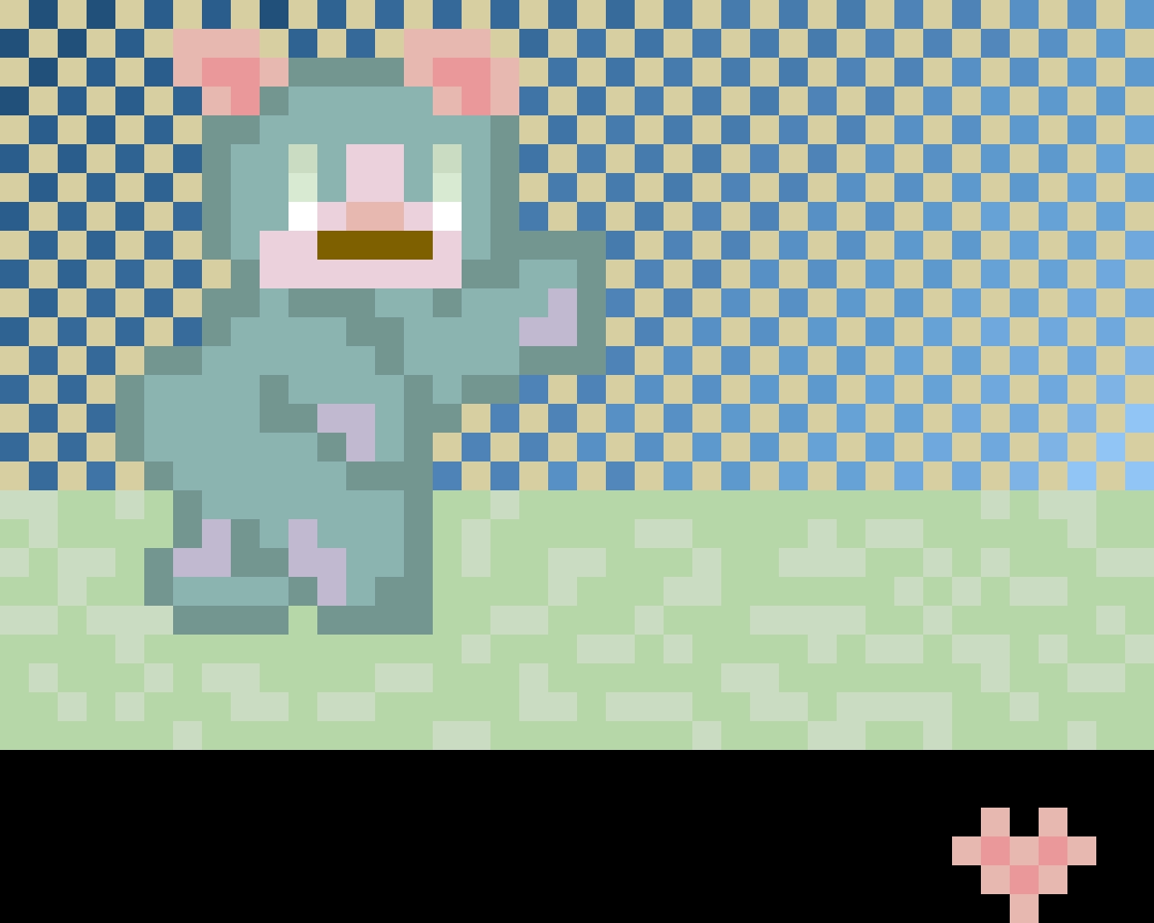 A wild gummie bunnie caught in the wild...