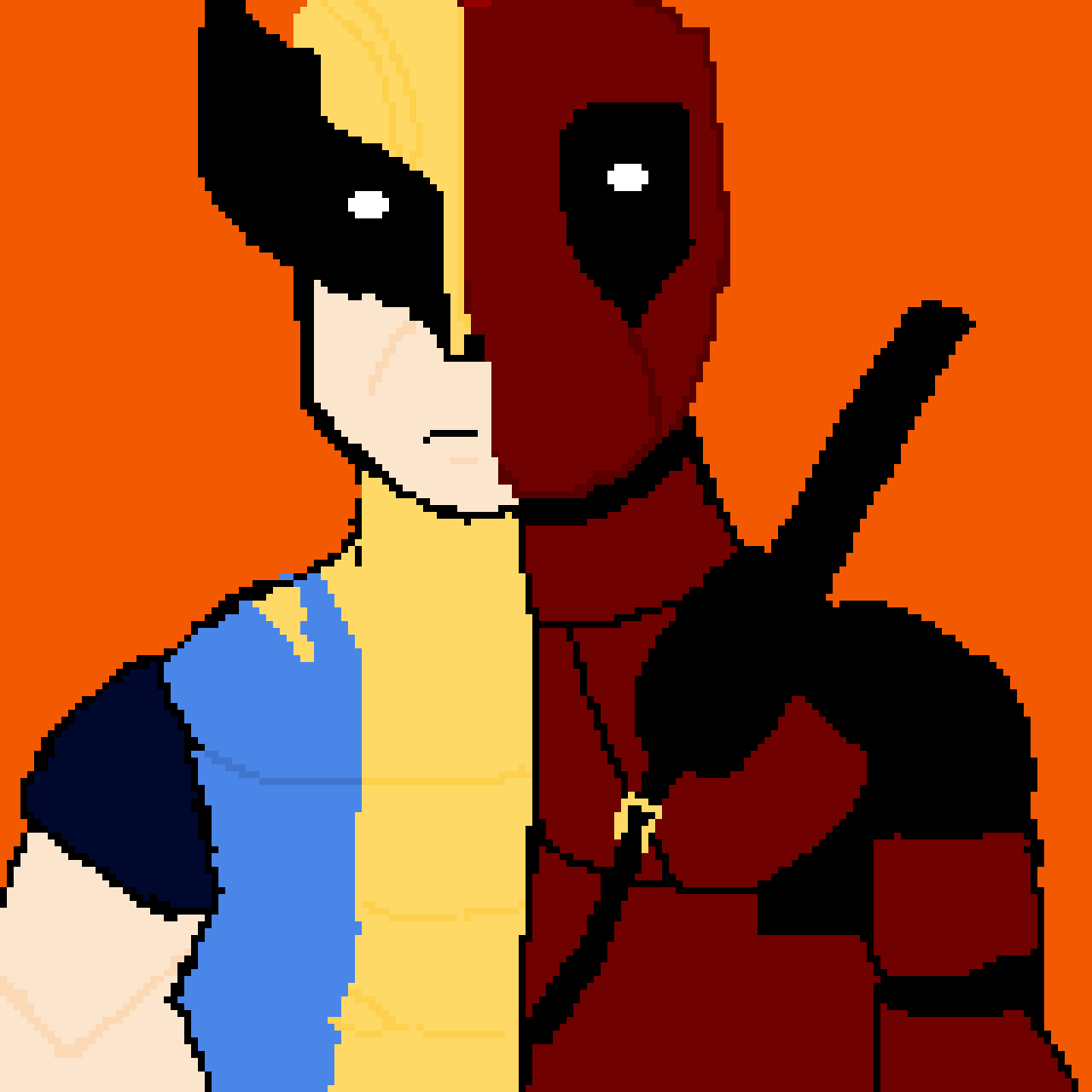 Deadpool and Wolverine fusion ( Superhero Contest)