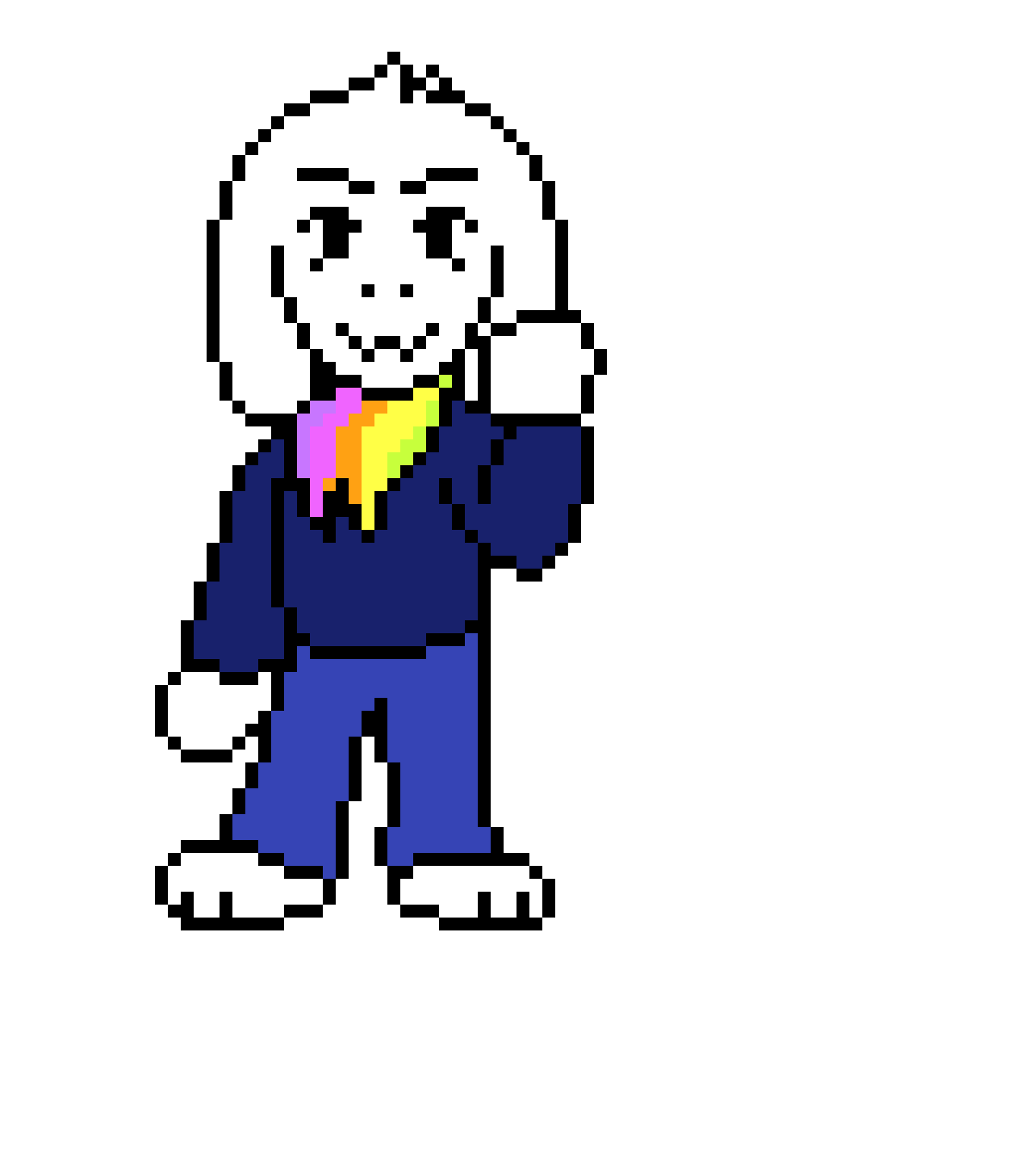StoryShift Asriel (Probably canon)