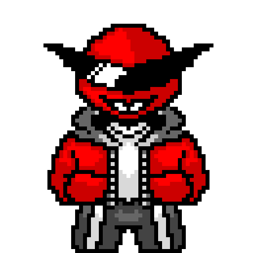 Cherrytale Merg Battle sprite (In honor of beating the current version of our game)