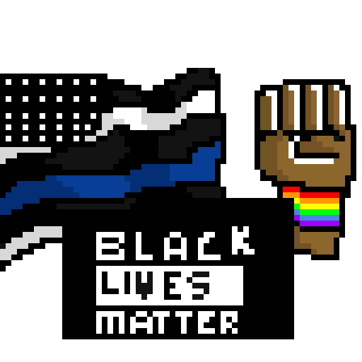 i support BLM Black Lives Do Matter