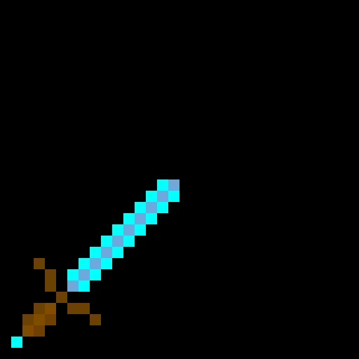 My diamond sword