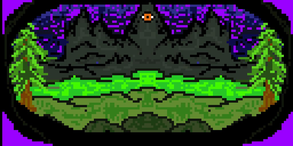 eye of the mountain