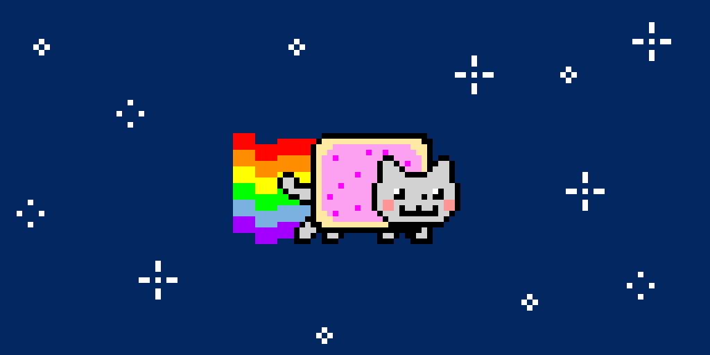 Nyan cat game give me likes and comments for this pws!